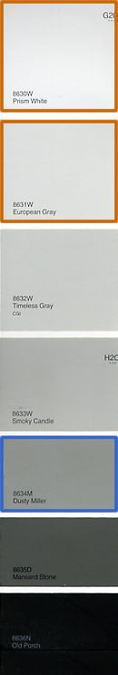 Dusty Miller Paint Swatch